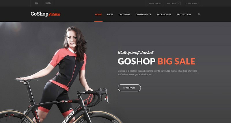 GoShop - eCommerce PSD Template
