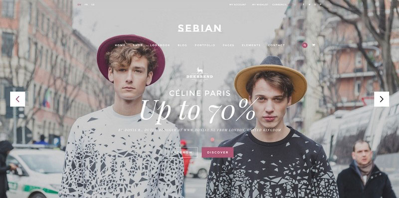 SEBIAN - Multi Purpose eCommerce PSD Template