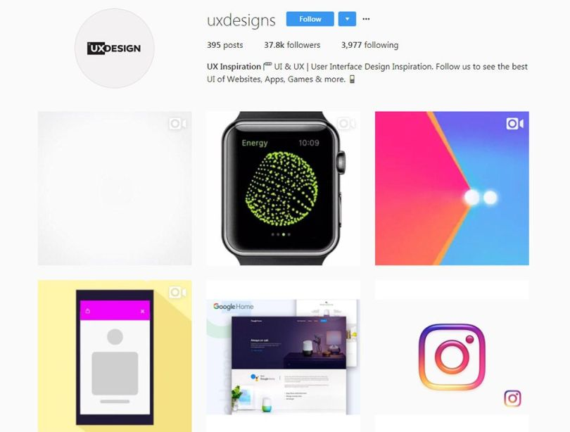 uxdesigns instagram