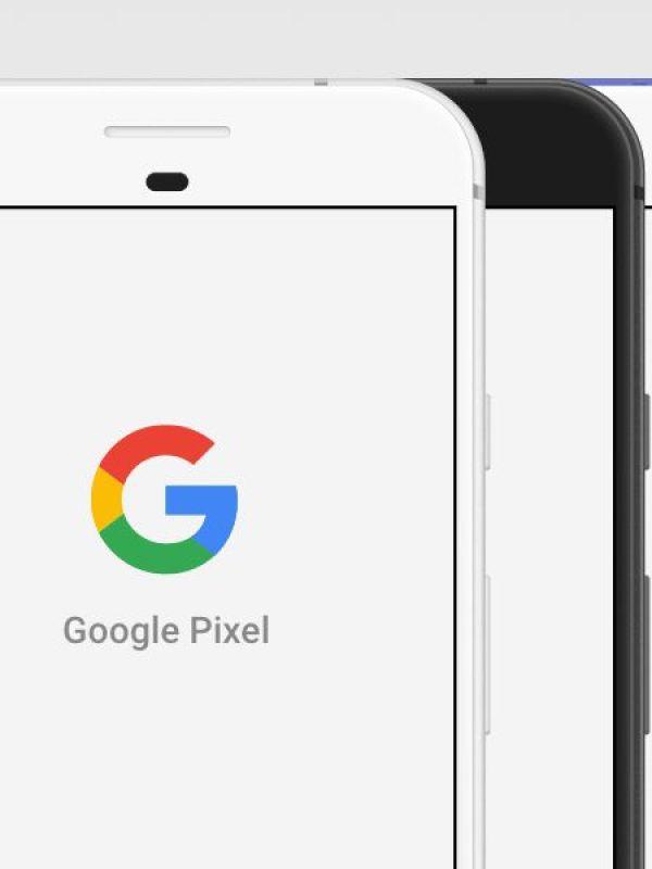 Google Pixel Mockup Template