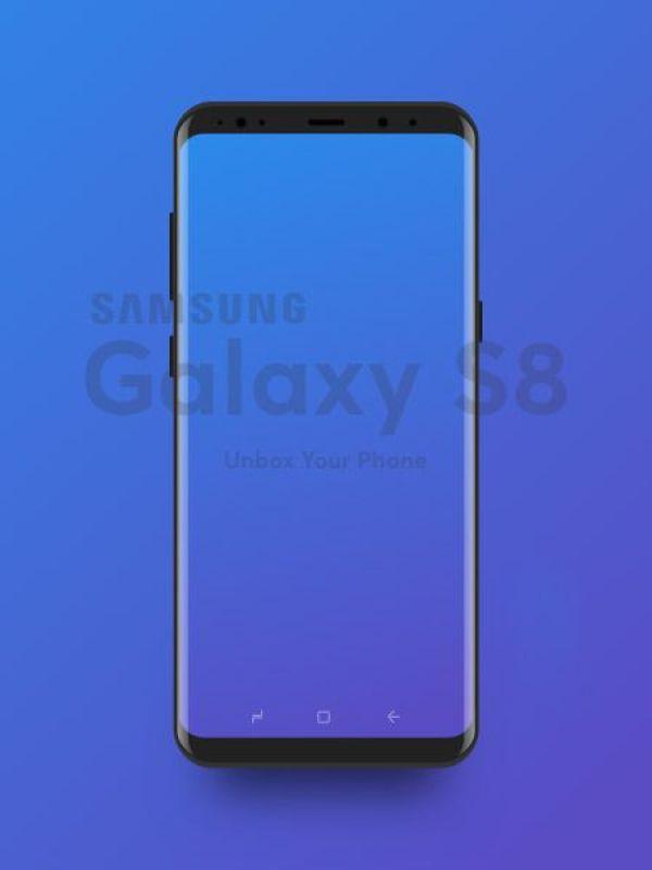 Samsung Galaxy Mockup Template