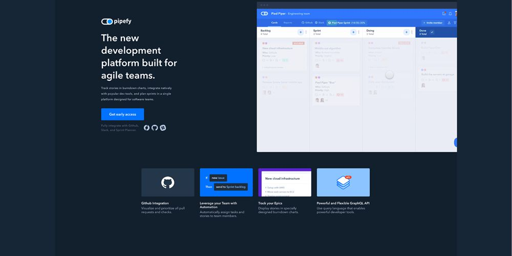 Pipefy Motion Design in Web Design