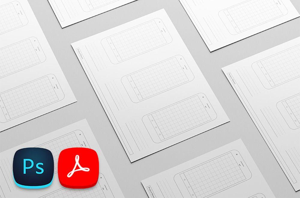 google pixel printable template