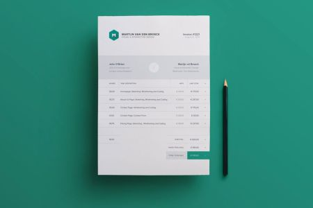 modern invoice template   Engne euforic co modern invoice template