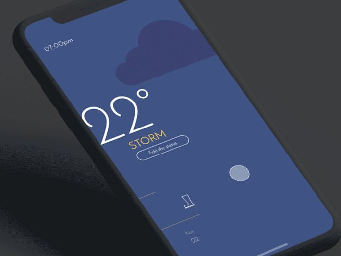 Graphical Backgrounds App Design Inspiration