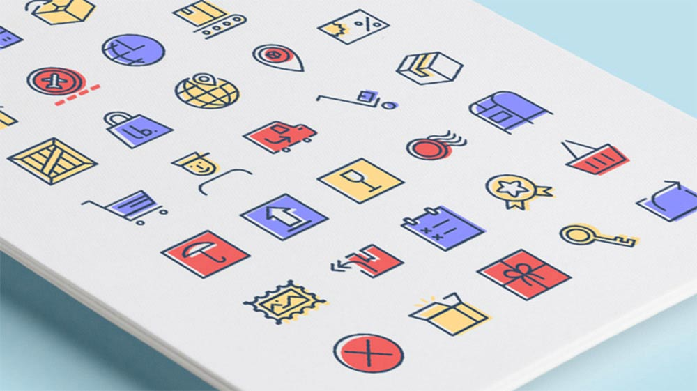 Checkout and Delivery Icons