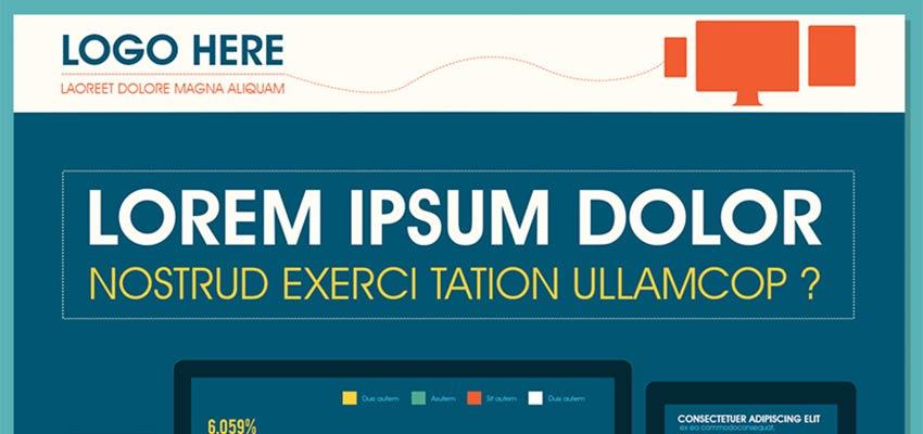 Tech Infographic PSD