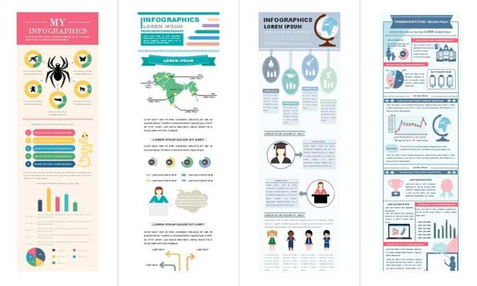 50+ Editable Infographic Templates