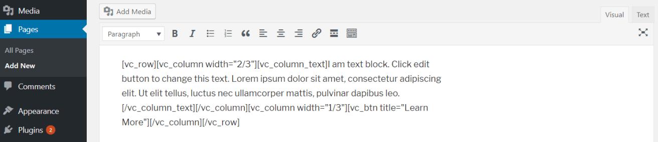 Inline Frontend Editor