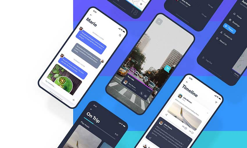 Navigo Transportation UI Kit