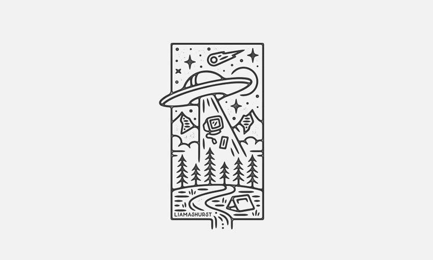 UFO Scene
