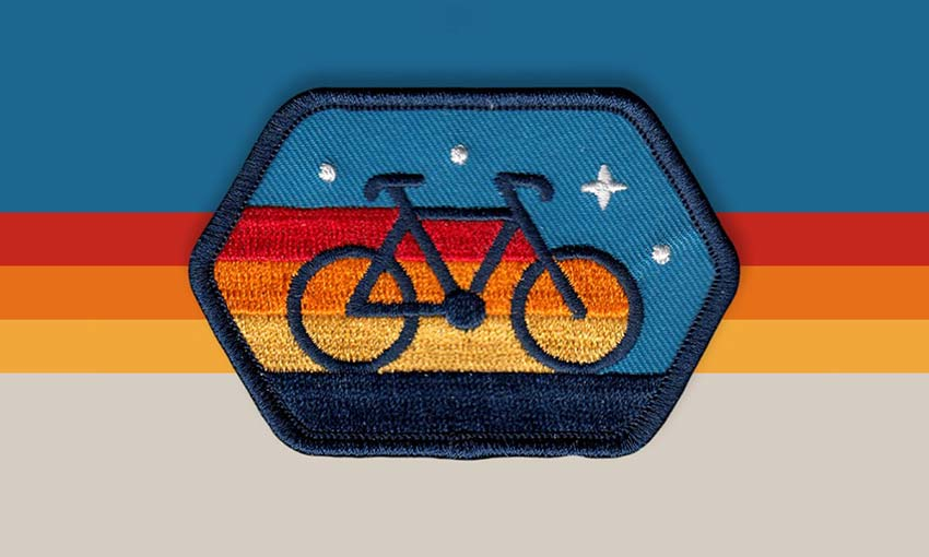 Cyclist Patch
