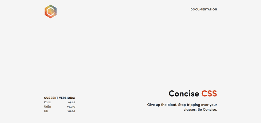 Concise CSS