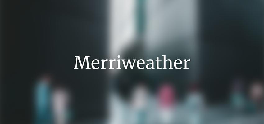 Example of Merriweather