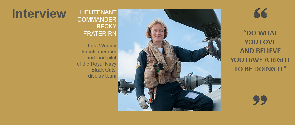 Becky Frater Interview