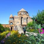 Ancient Monastery in Geghard, Armenia.