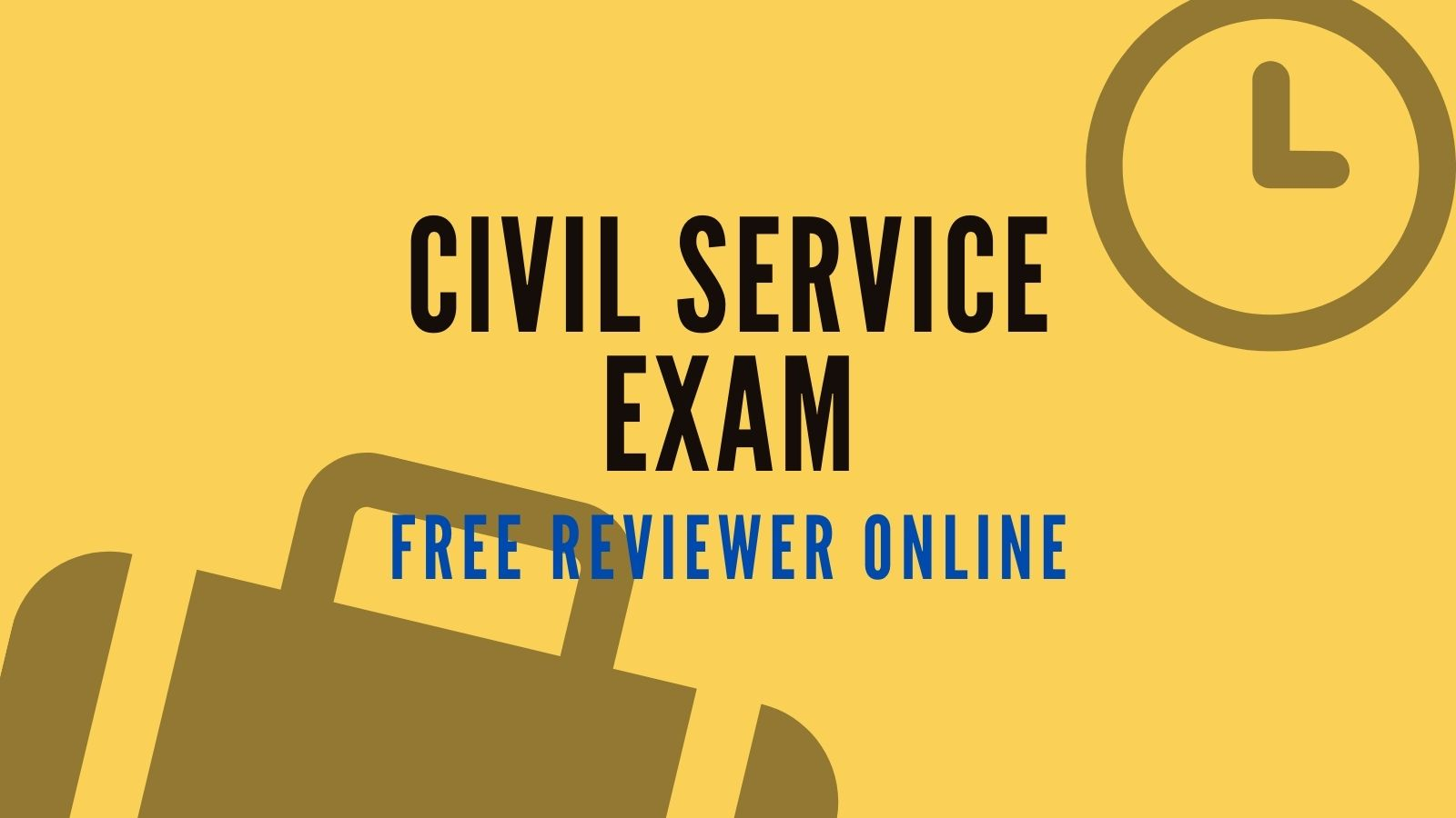 civil service exam free online reviewer philippines