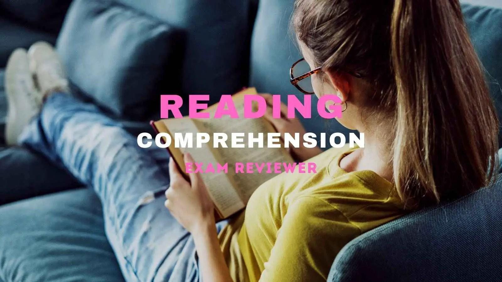 reading comprehension civil service exam philippines