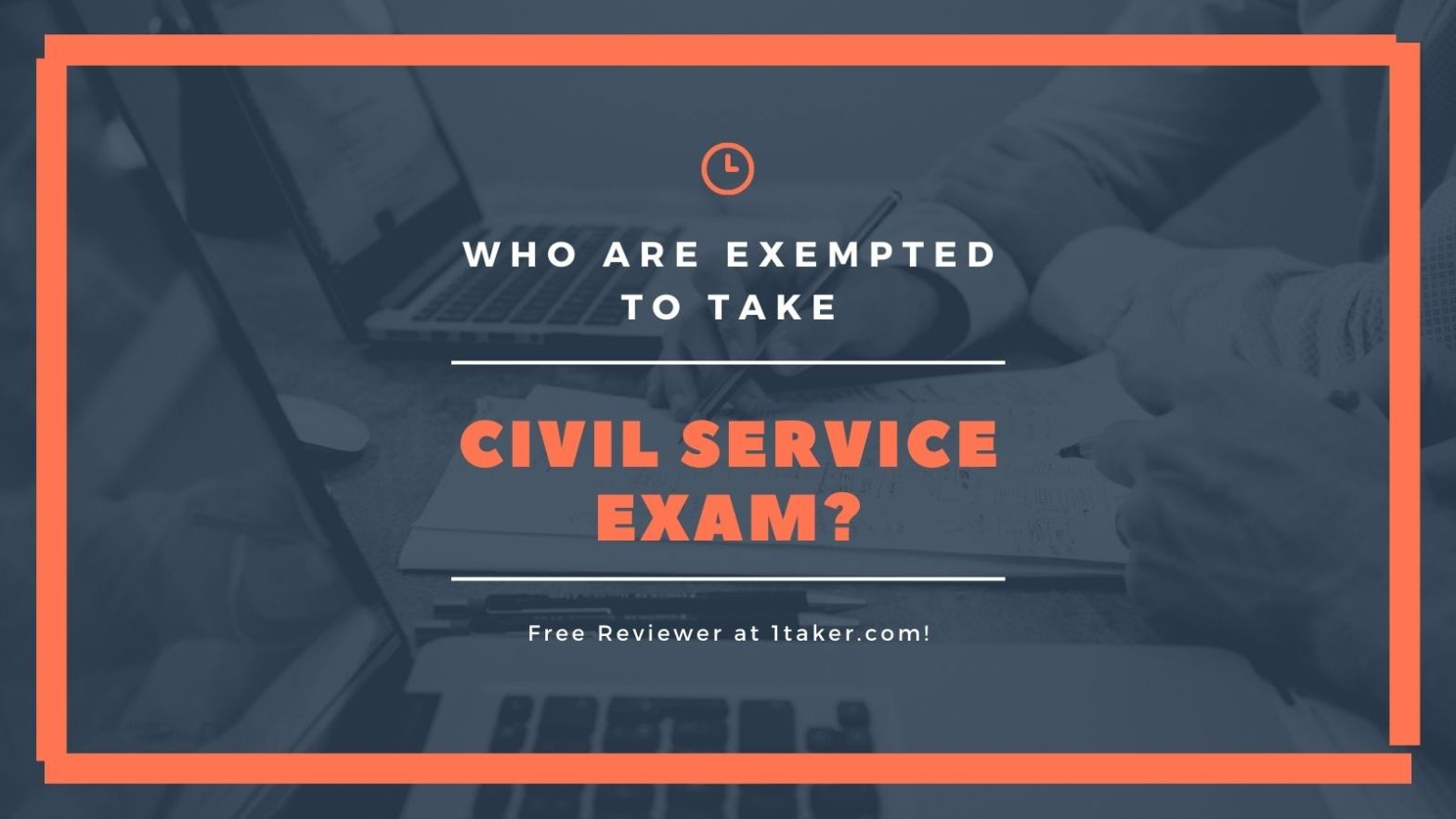 exempted in civil service exam philippines