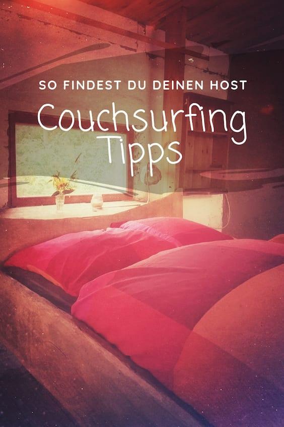 Couchsurfing Tipps