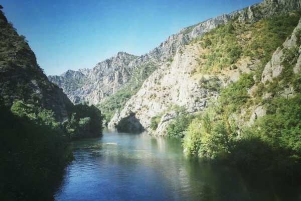 Matka-Schlucht Mazedonien