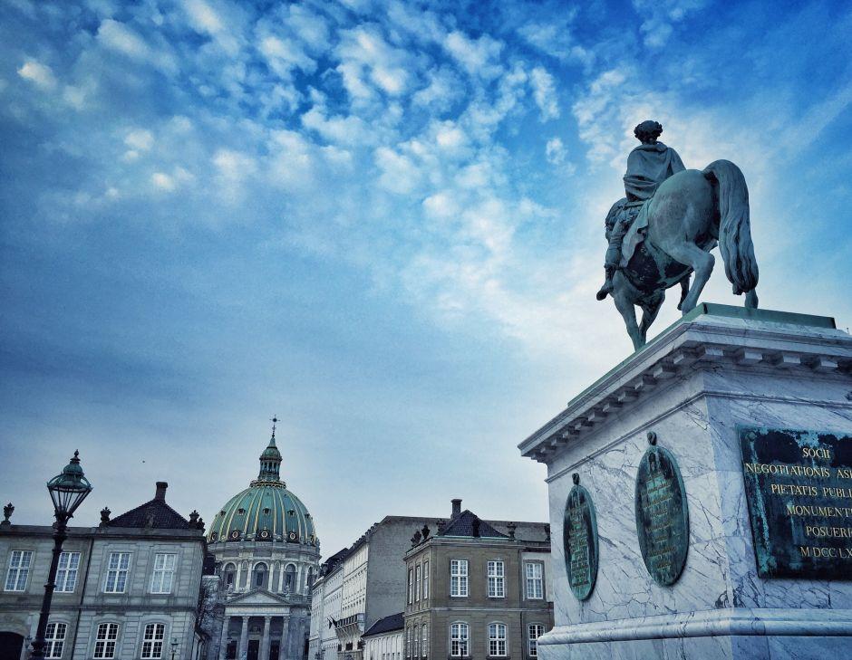 Kopenhagen Amalienborg Frederikskirken