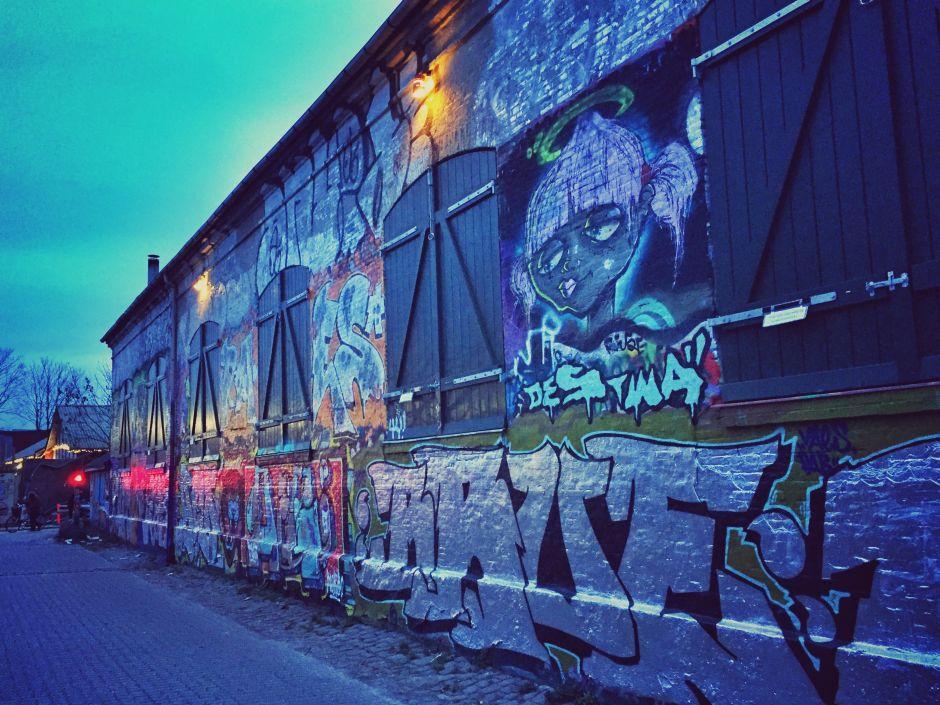Kopenhagen Christiania Street Art