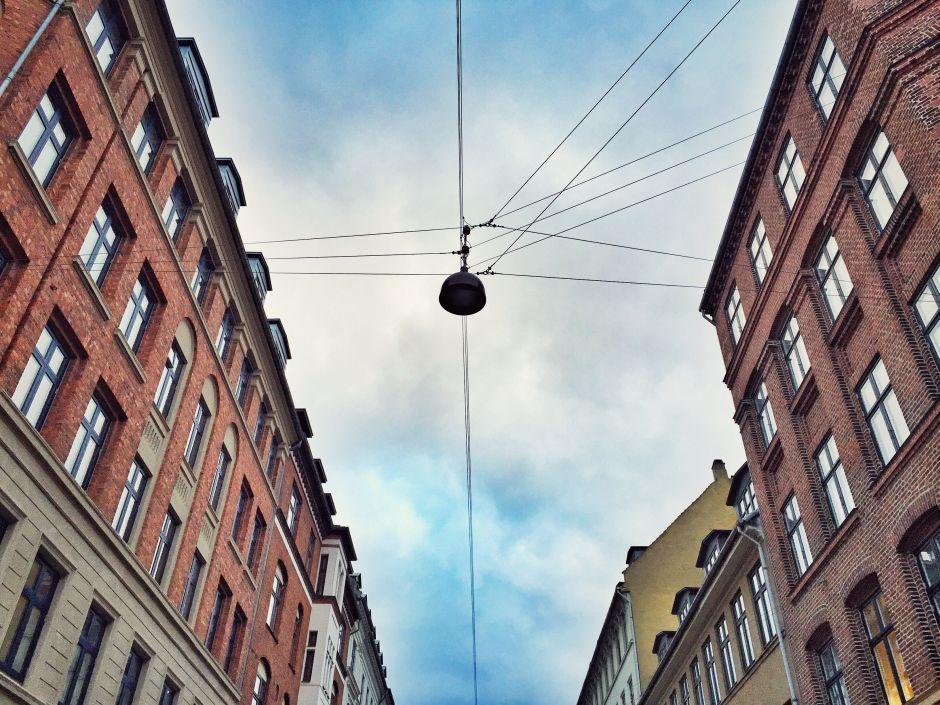 Kopenhagen Straßenlaternen Nørrebro