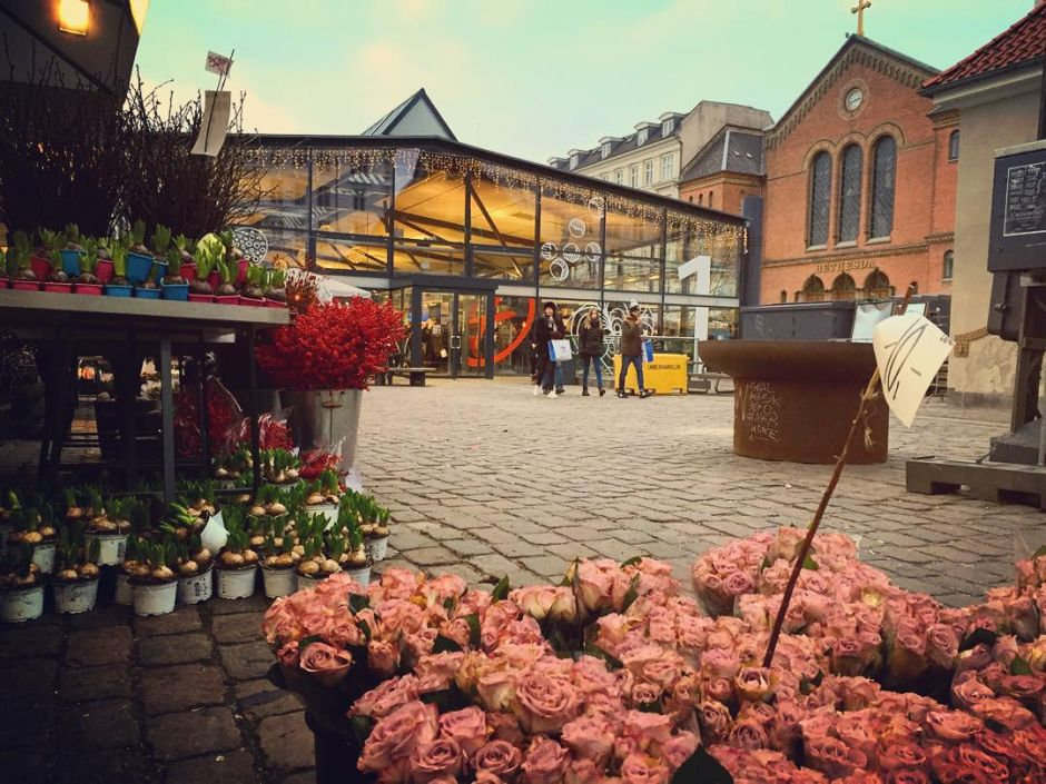 Kopenhagen Torvehallerne Rosen