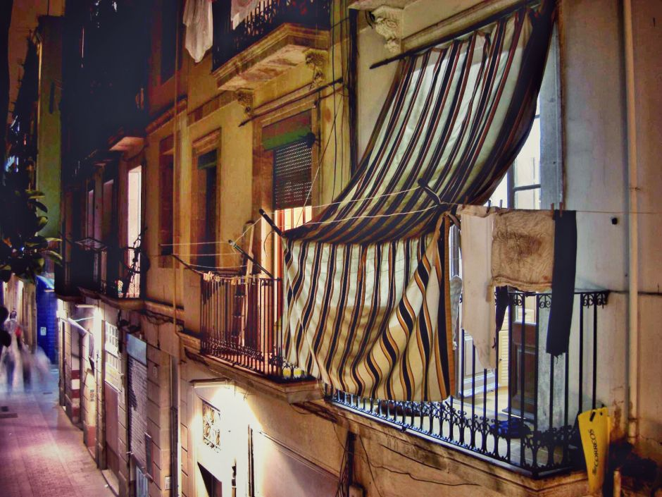 Barcelona Fassaden Ciutat Vella