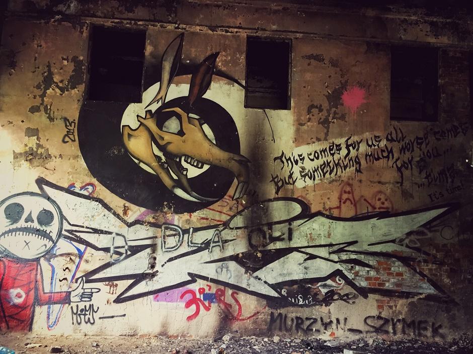 Krakau Steinbruch Street Art