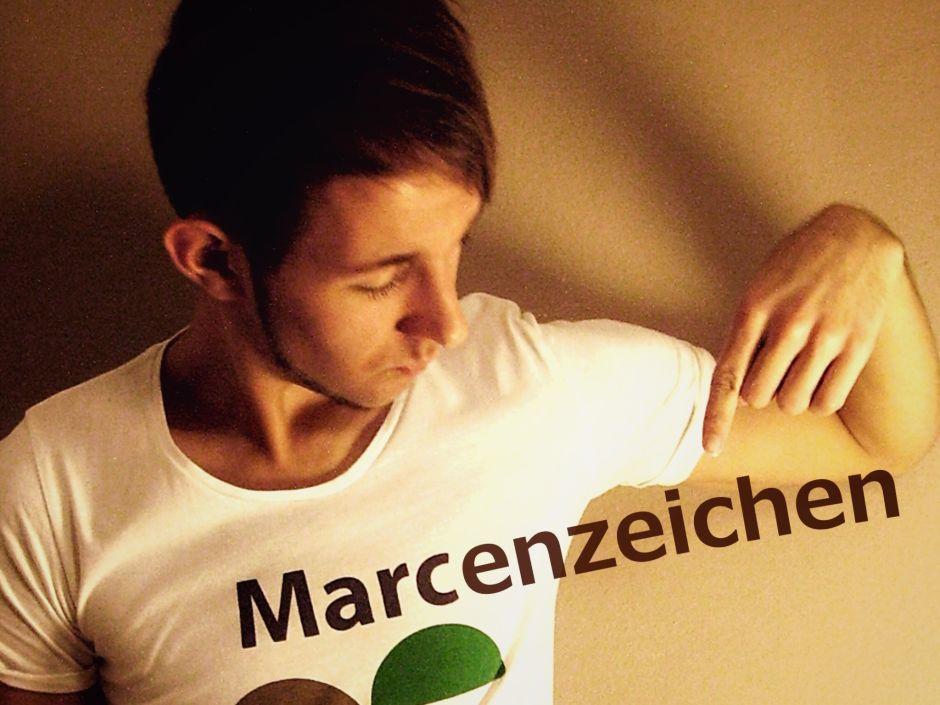 Marc mit einer kleinen Billo-Photoshop-Spielerei. ;)