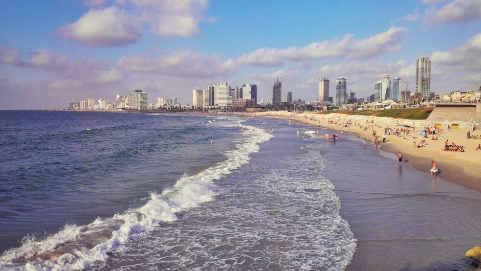 Tel Aviv Strand Panorama