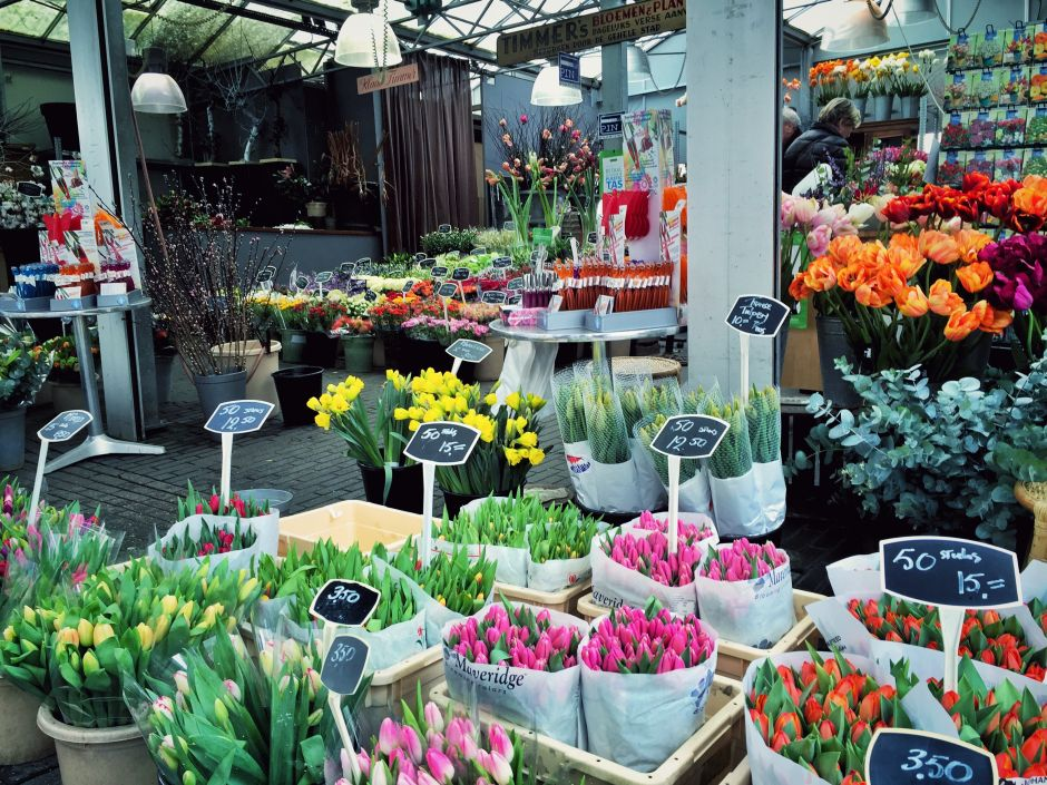 Amsterdam_Bloemenmarkt_Tulpen_1 THING TO DO
