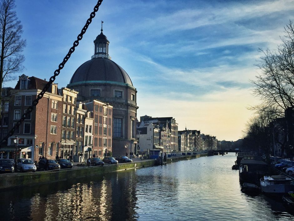 Amsterdam_Singel_Ronde Lutherse Kerk_1 THING TO DO