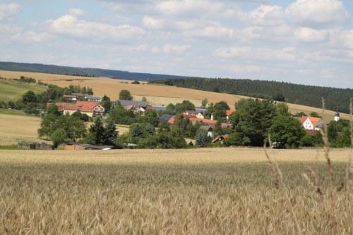 Kleinbockedra,_Dorfpanorama