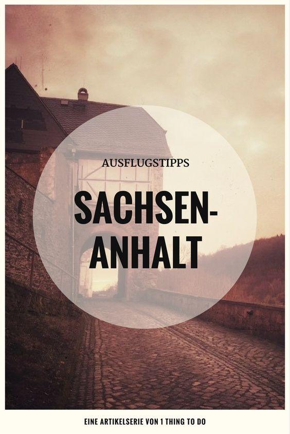 Ausflugsziele Sachsen-Anhalt
