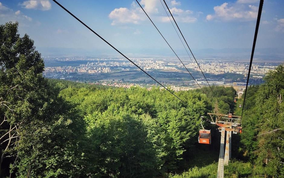 Witoscha-Gebirge Sofia