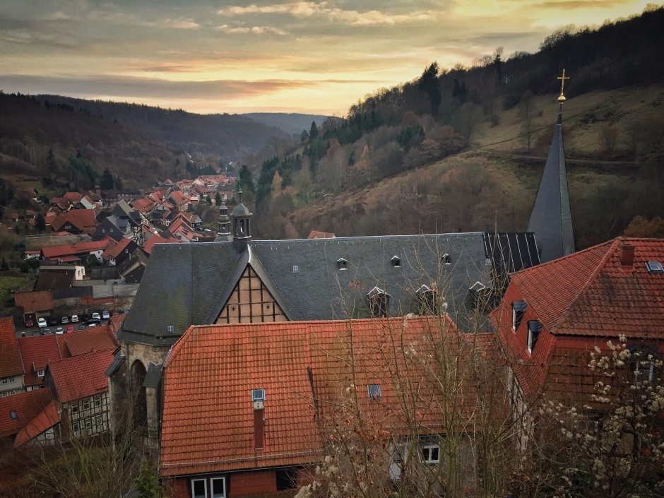 Ausblick Stolberg