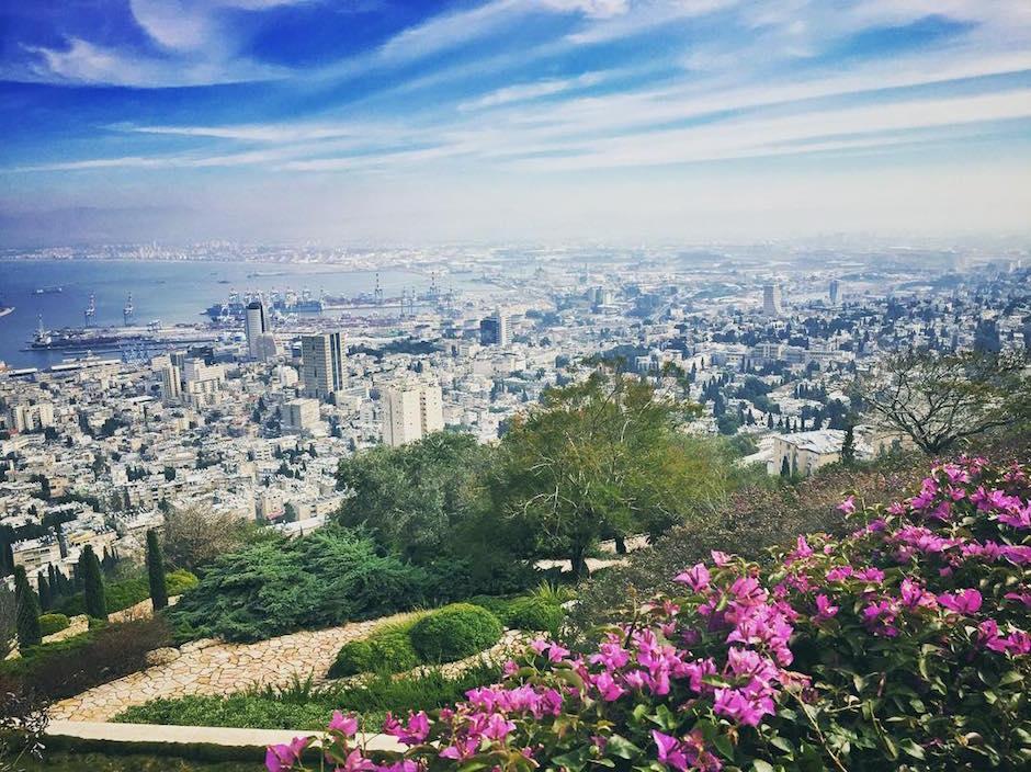 Israel Haifa Panorama