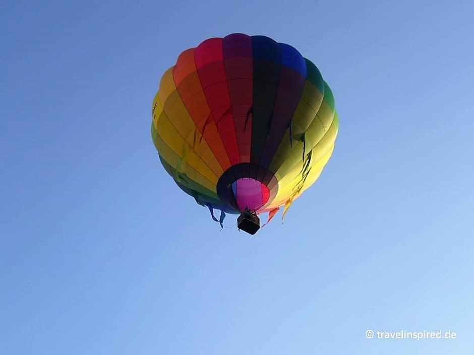 Hamburg Heißluftballon