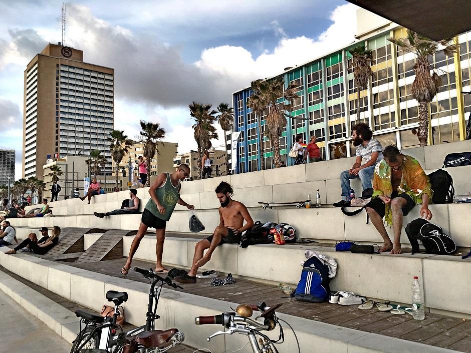 Tel Aviv Fahrradtour