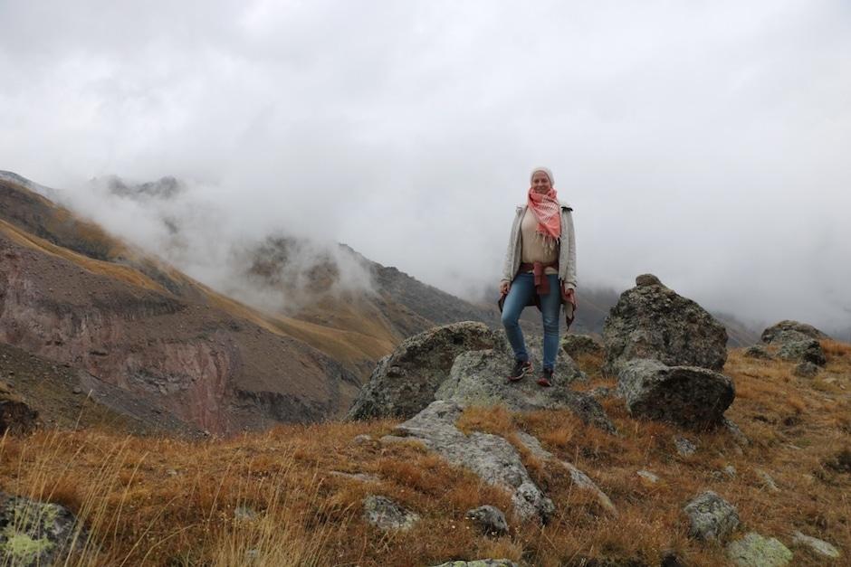 Gergeti Gletscher Georgien