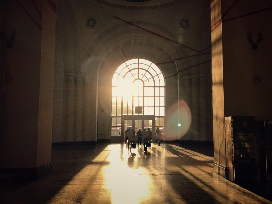 Jerewan Bahnhof