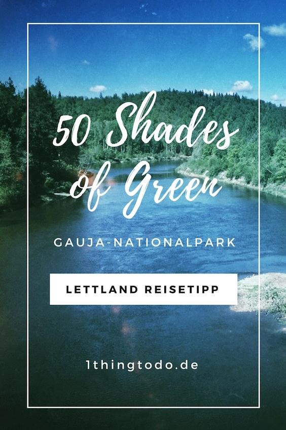 Gauja Nationalpark Lettland