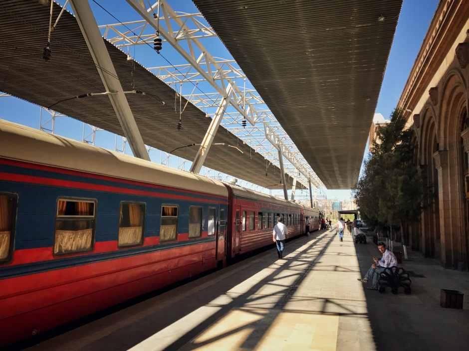 Nachtzug Tiflis Baku Jerewan Batumi