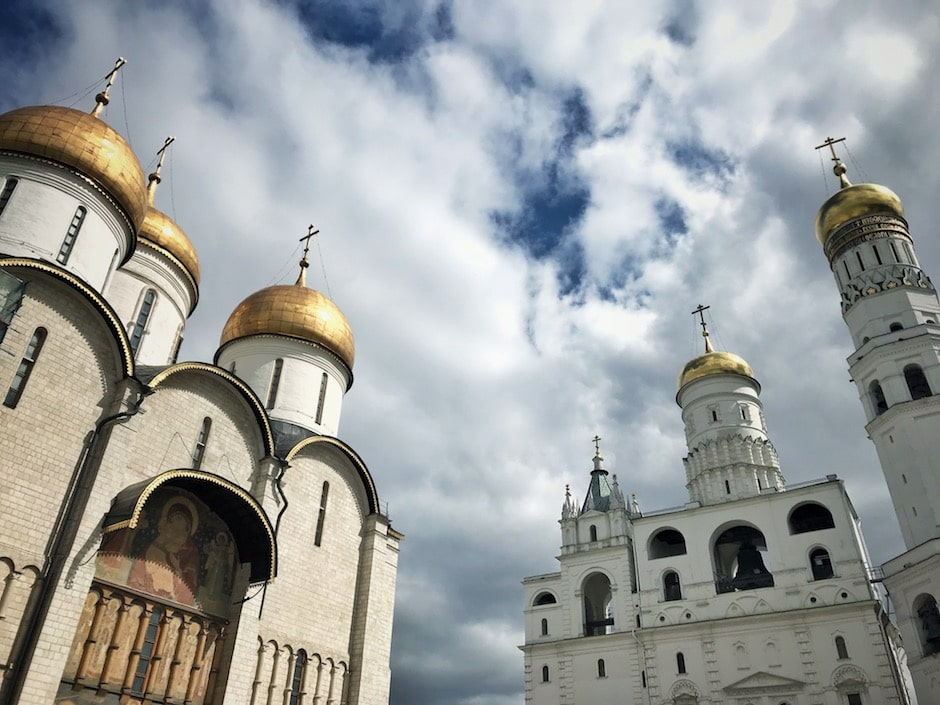 Moskau Reisebericht Sehenswürdigkeiten