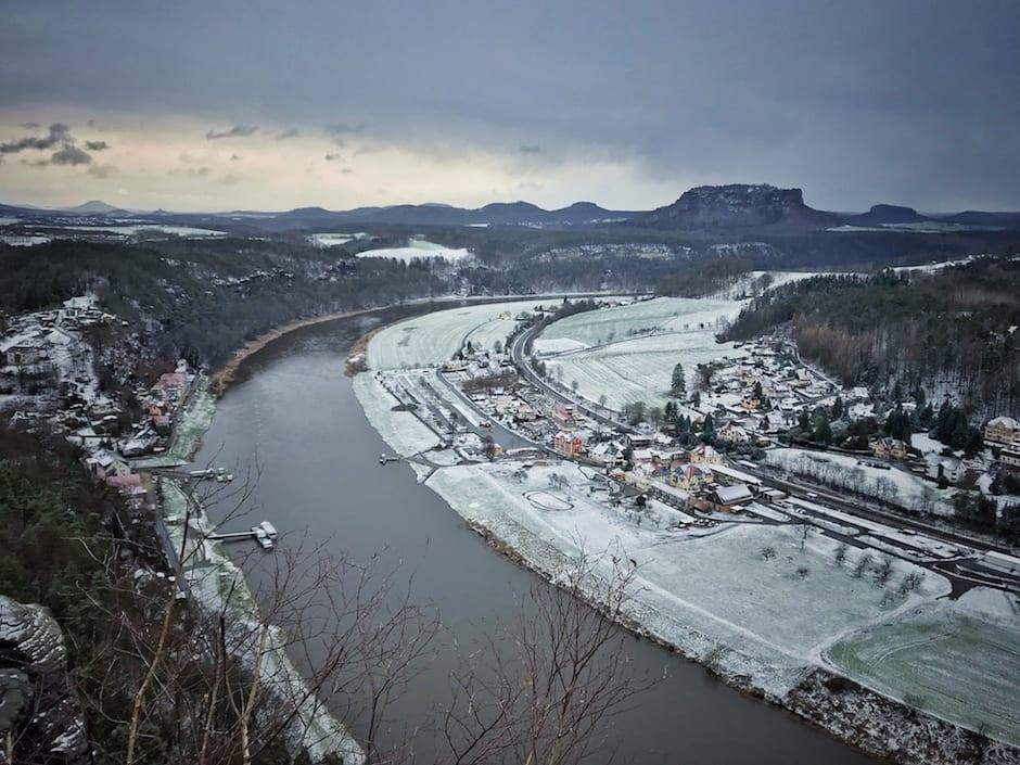 Kurort Rathen Wandern Bastei
