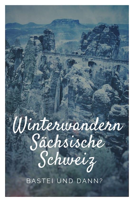 Sächsische Schweiz Winterwandern