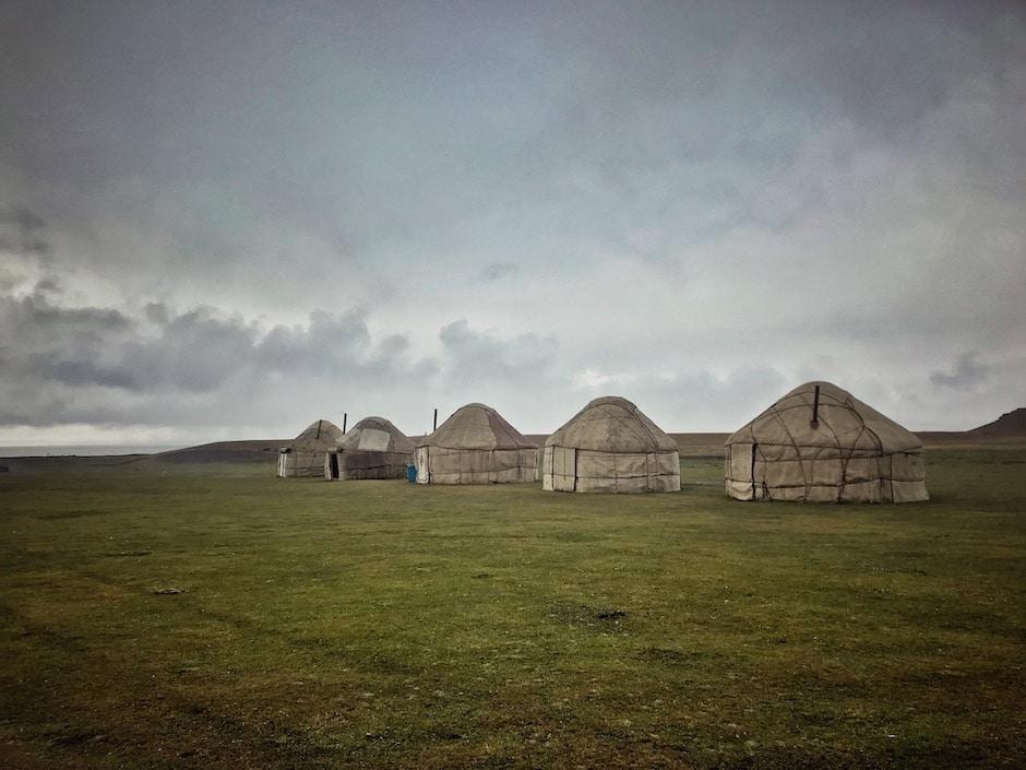 Jurtencamp Kirgisistan